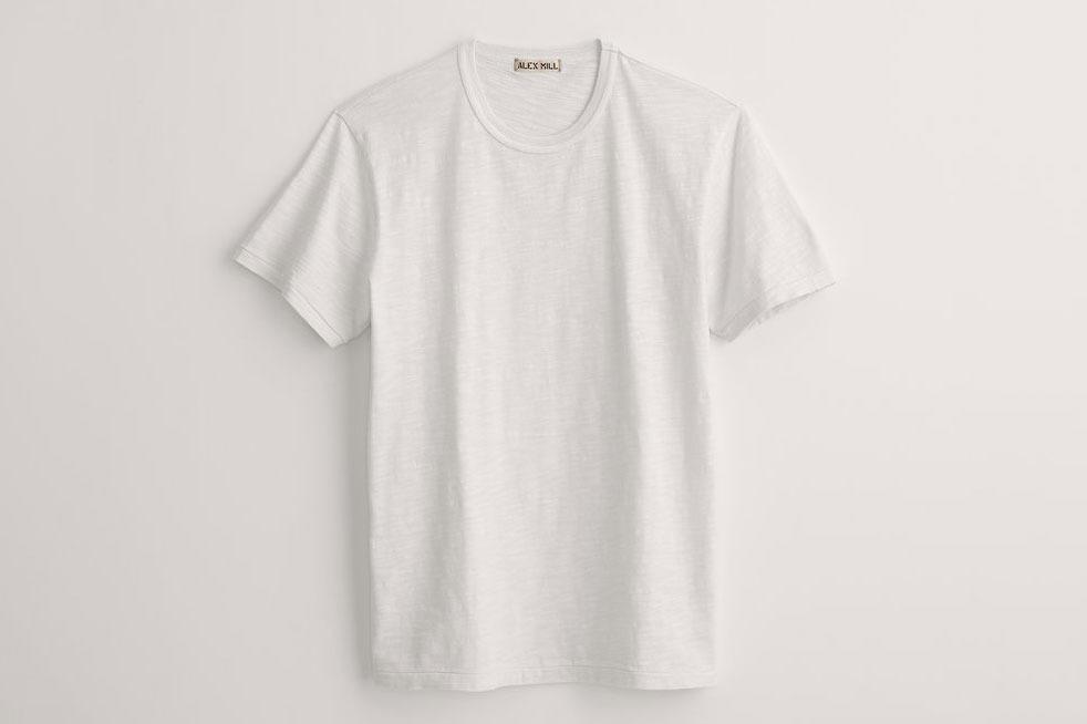 Alex Mill Standard T-Shirt in Slub Cotton