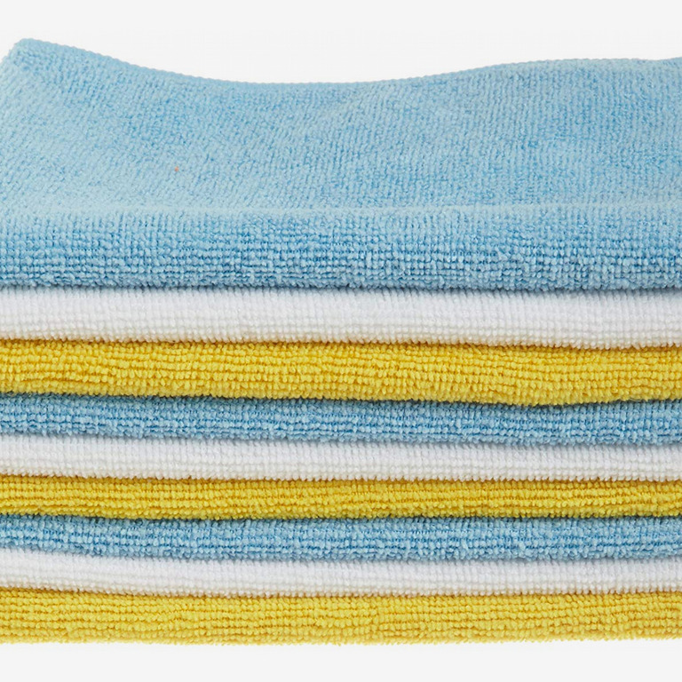 AmazonBasics 24-Pack Microfiber Cleaning Cloth