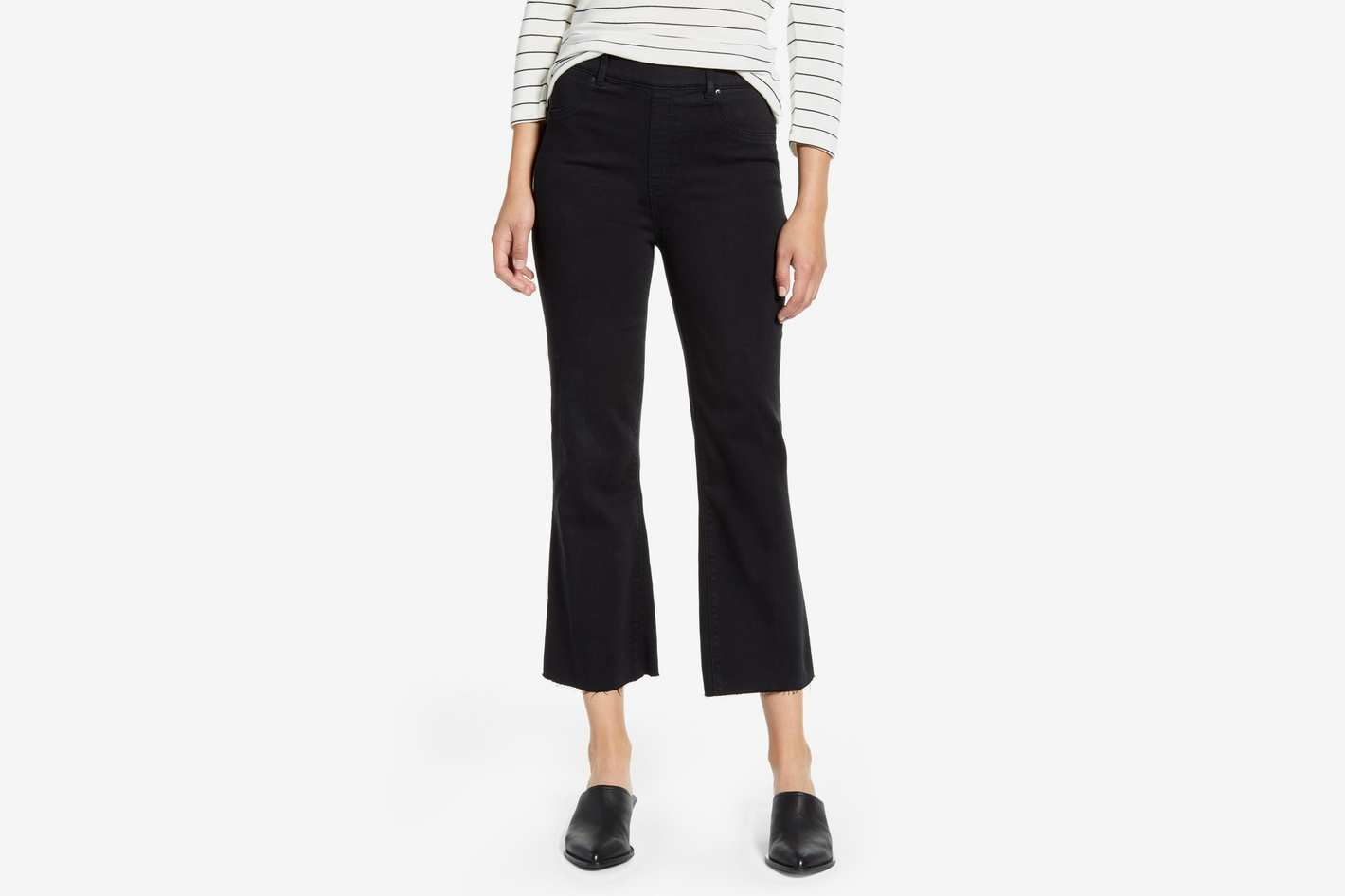 Spanx Crop Flare Denim Leggings