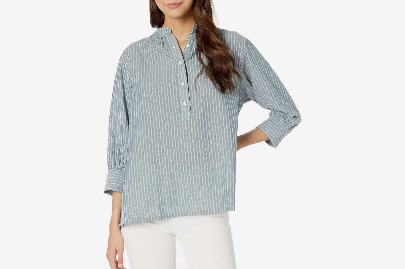 Frye Long Sleeve Pullover Shirt