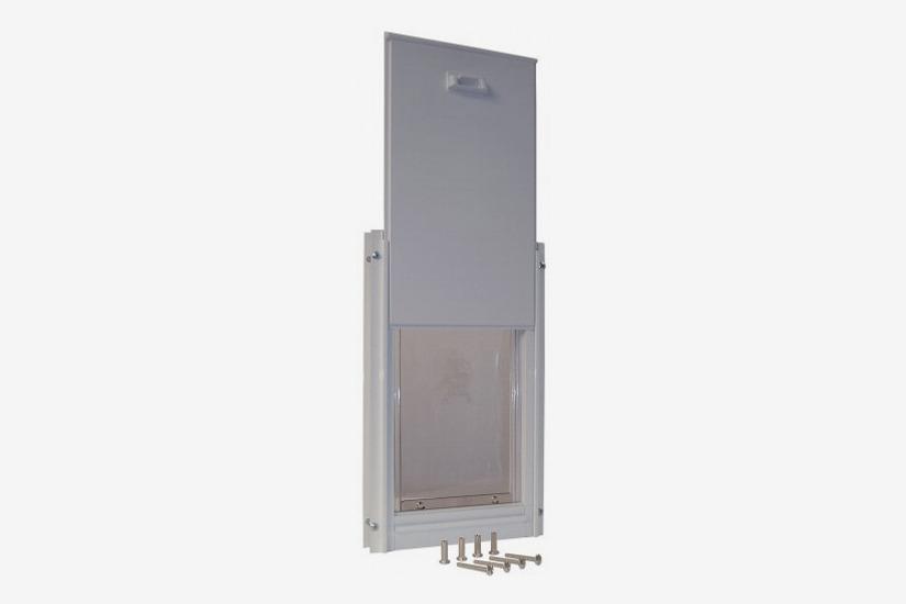 Ideal Pet Products Deluxe Aluminum Pet Door with Telescoping Frame