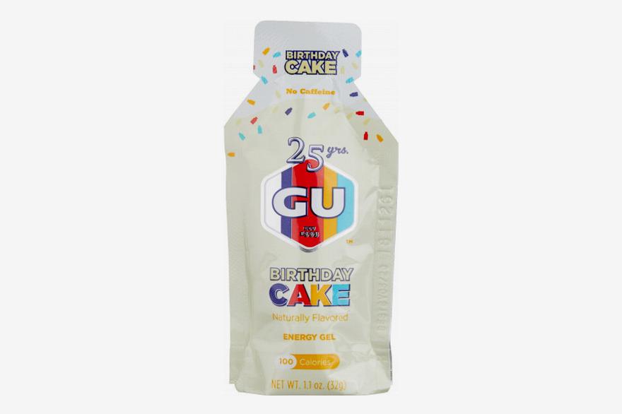 GU Energy Gel Birthday Cake