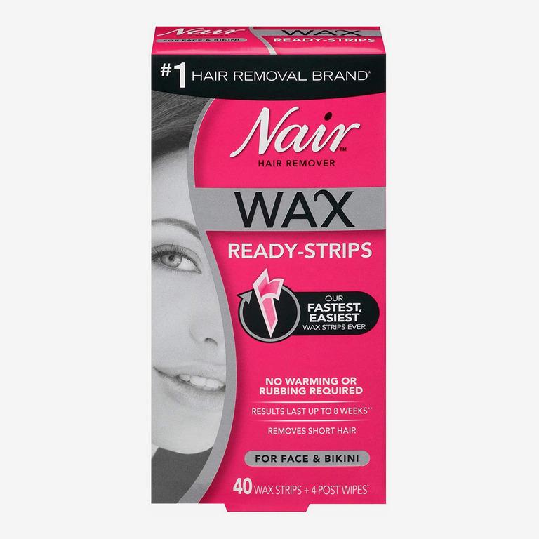 Nair Wax Ready-Strips for Face and Bikini