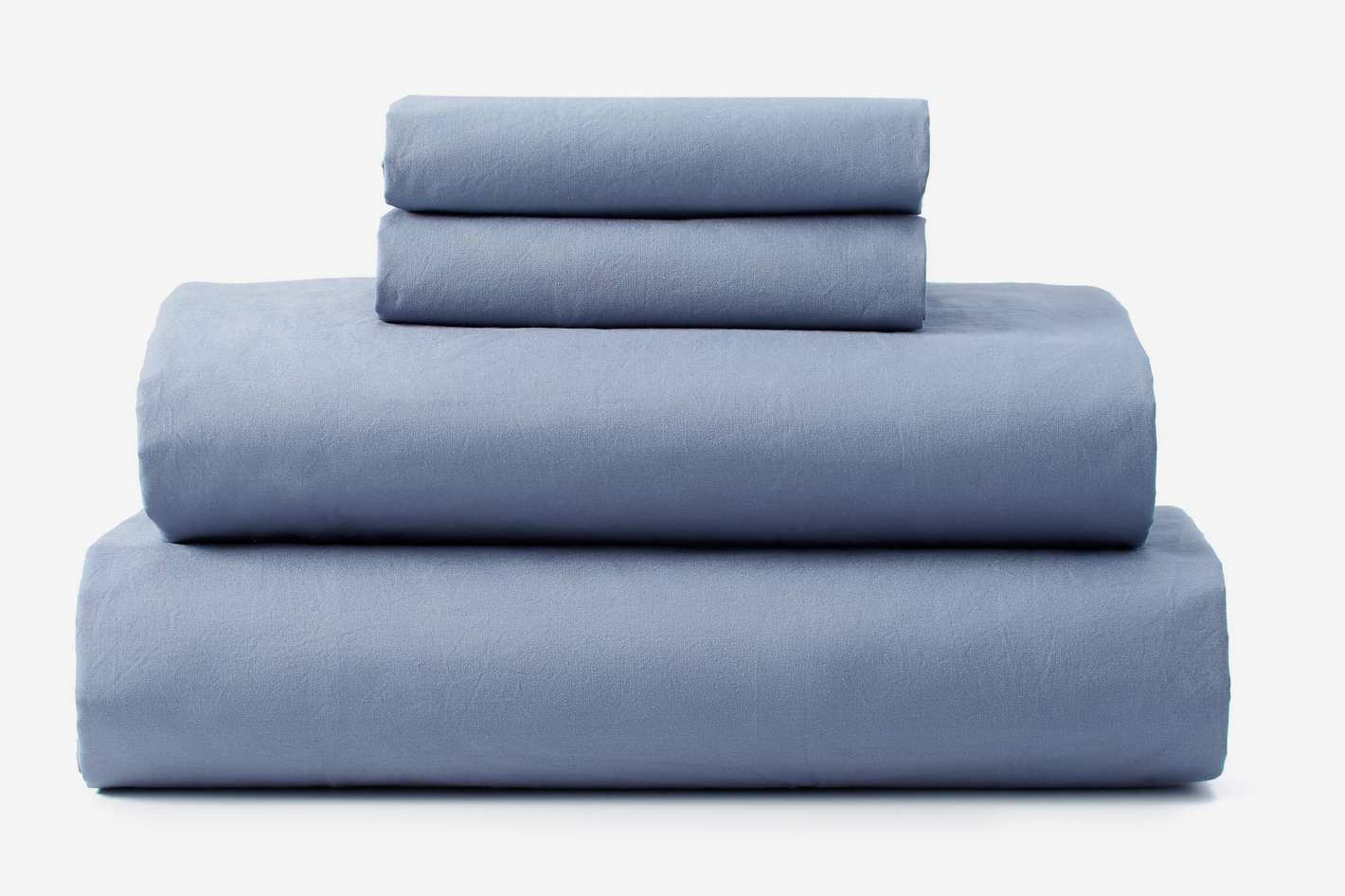 Upstate Pure Washed Cotton Sheet Set - Queen
