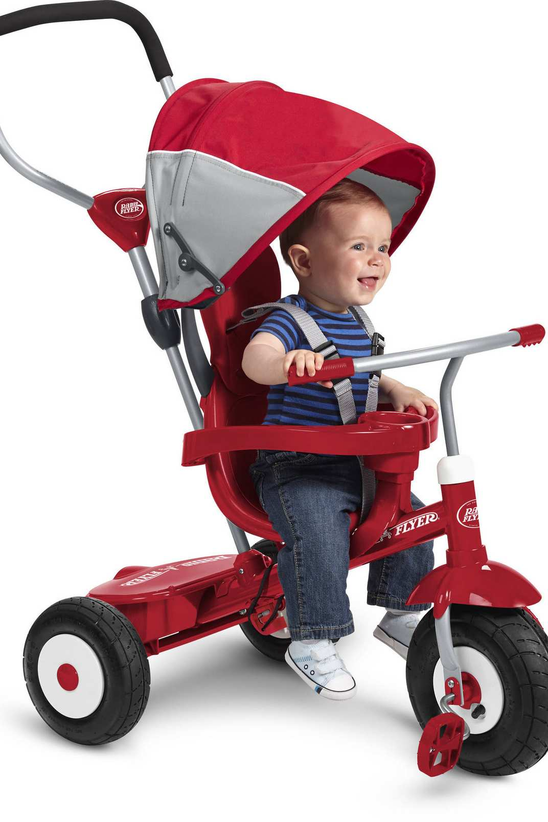 Radio Flyer All-Terrain 4-in-1 Stroll 'N Trike