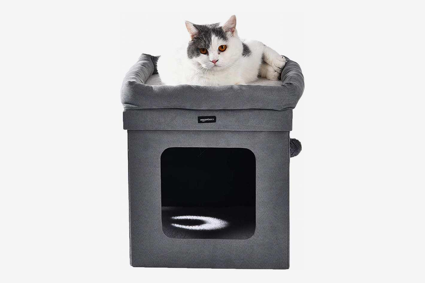 AmazonBasics Collapsible Cat House