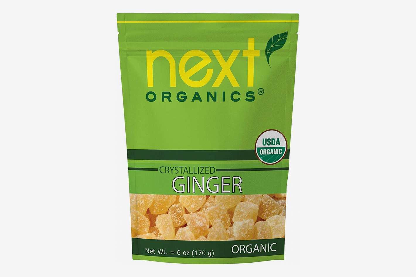 Next Organics Dried Crystallized Ginger