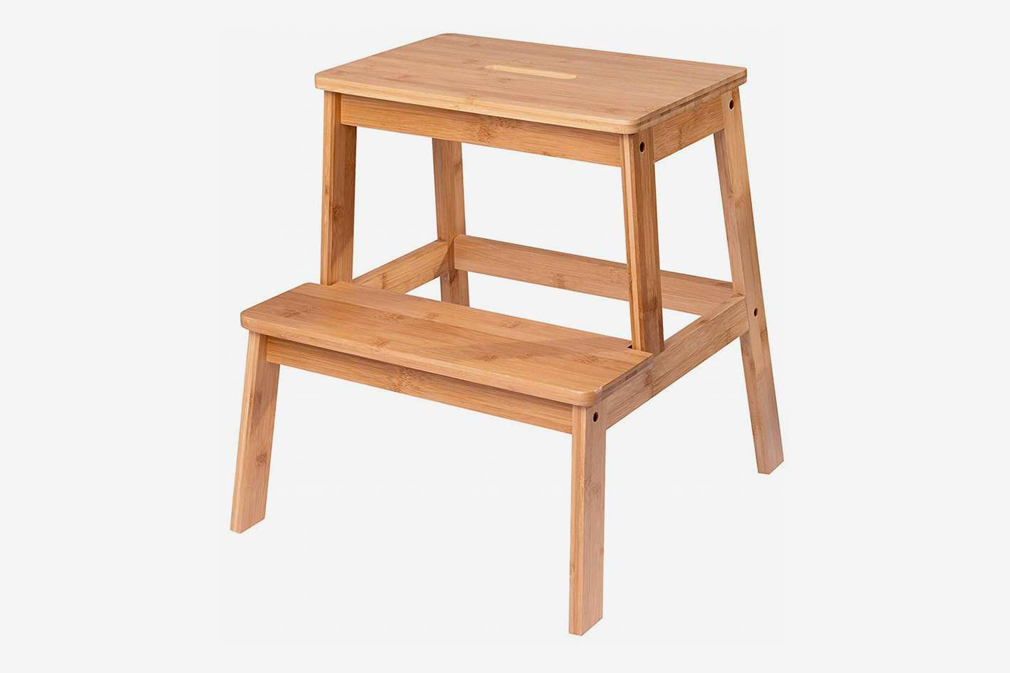 SPEED CARE Bamboo Step Stool