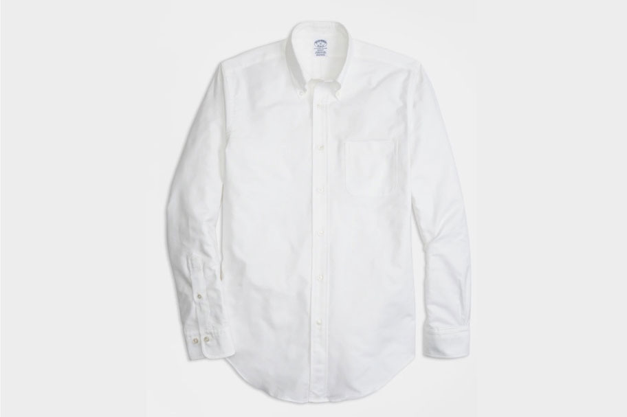 Brooks Brothers Regent Fit Oxford Sport Shirt