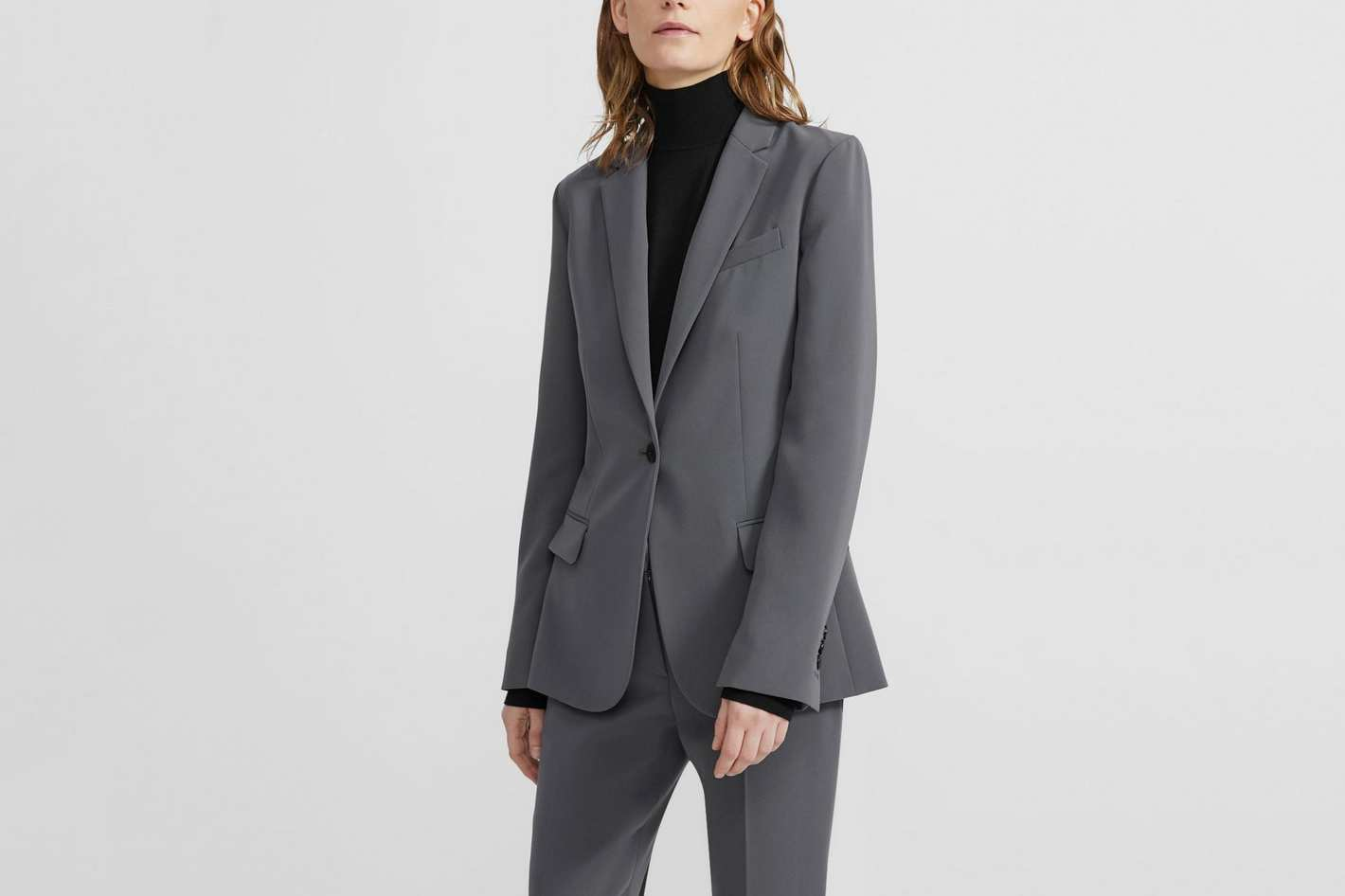 Theory Crepe Staple Blazer