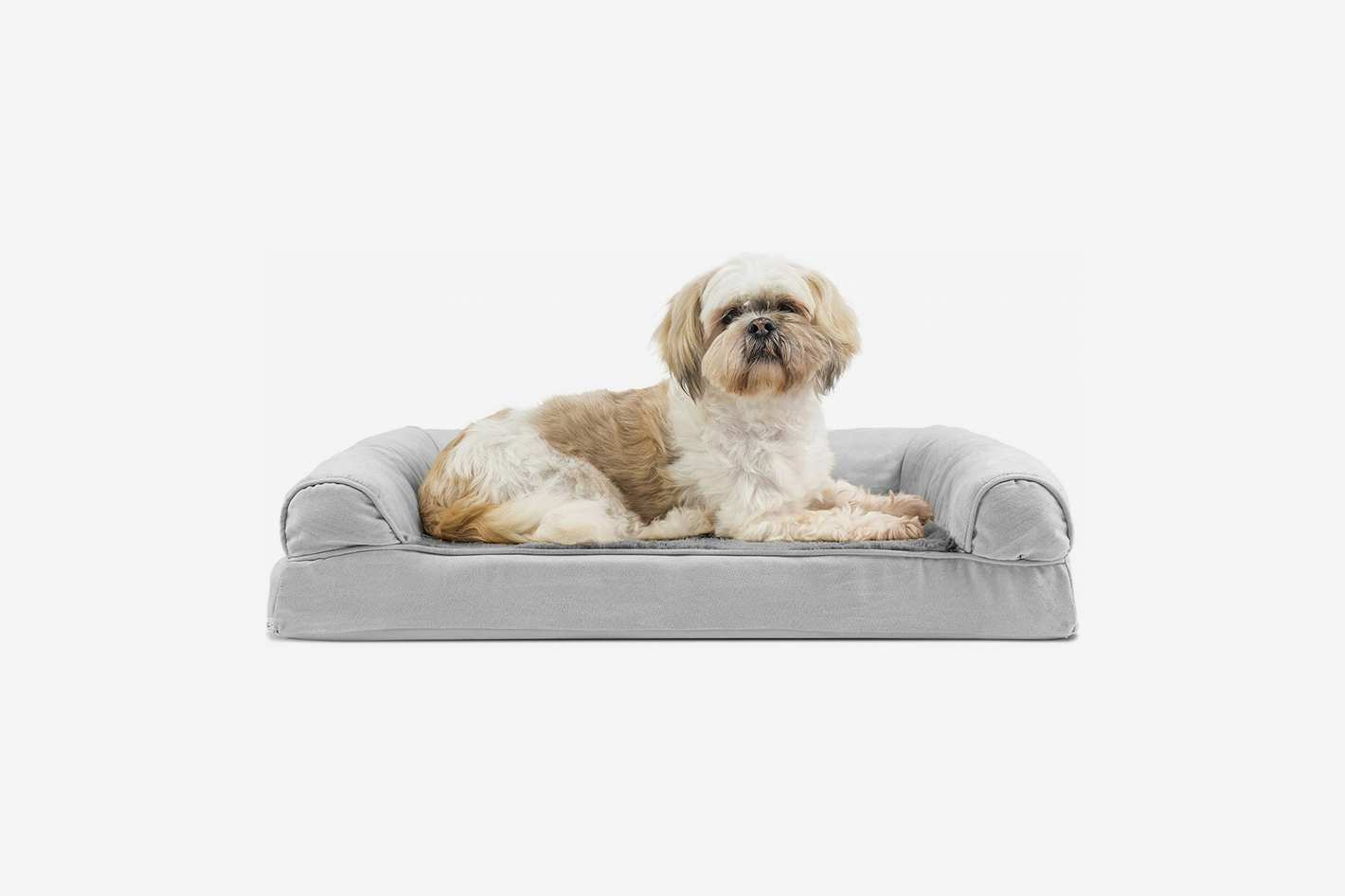 FurHaven Pet Dog Bed Orthopedic Plush Pet Bed for Dogs