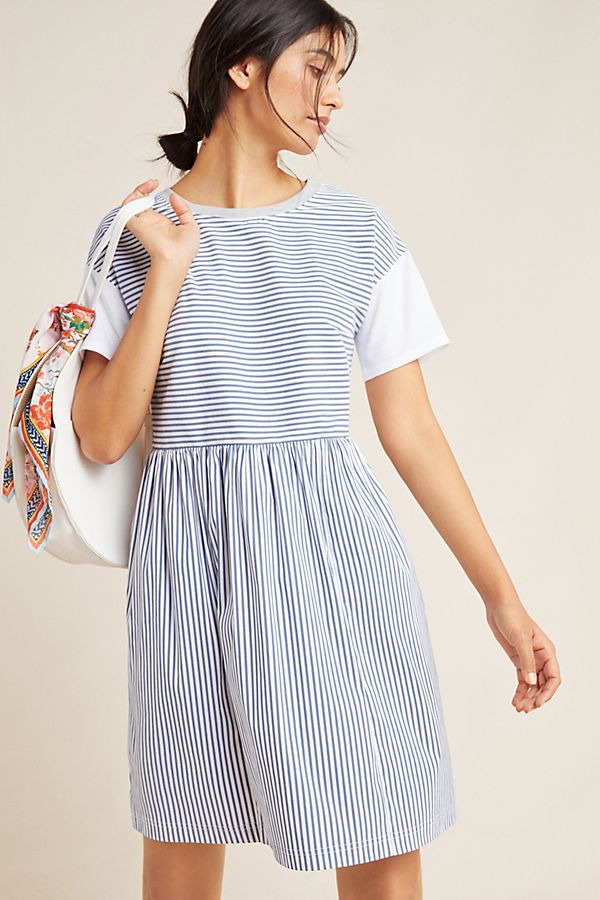 Anthropologie Sunday Striped Dress