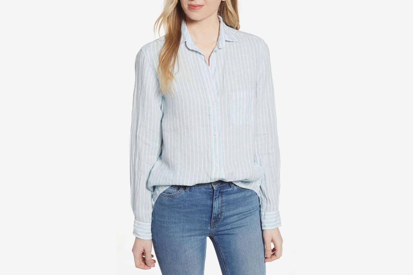 Grayson Hero Linen Button-Up Shirt