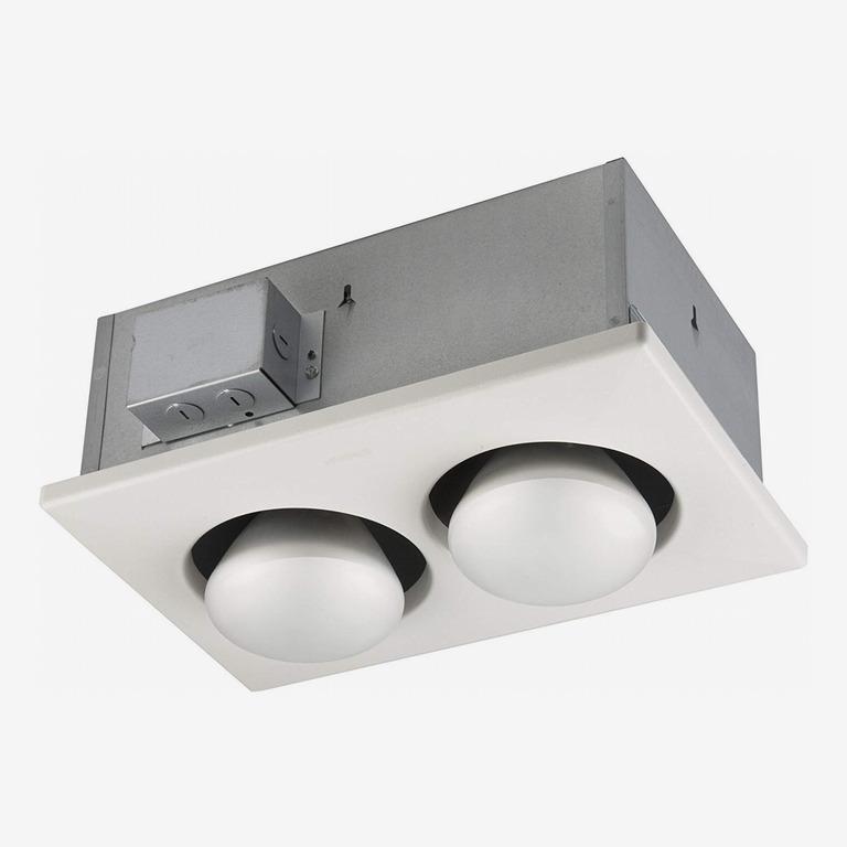Broan-Nutone 163 Bulb Heater, Energy-Saving 2-Bulb Infrared Type IC Ceiling Heater