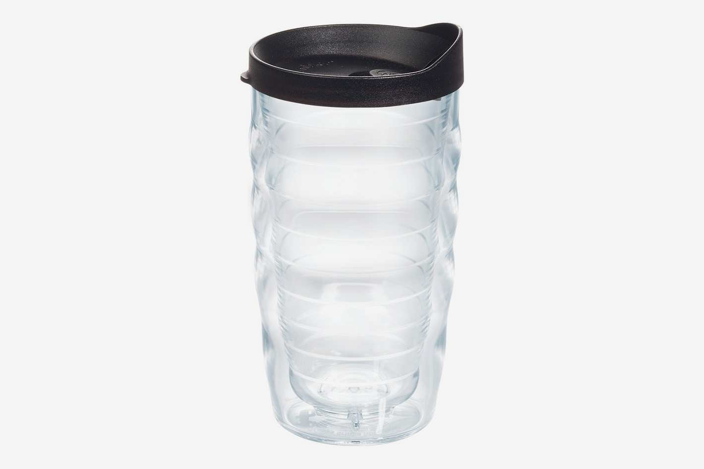 Tervis Clear & Colorful, Clear Tumbler with Black Lid