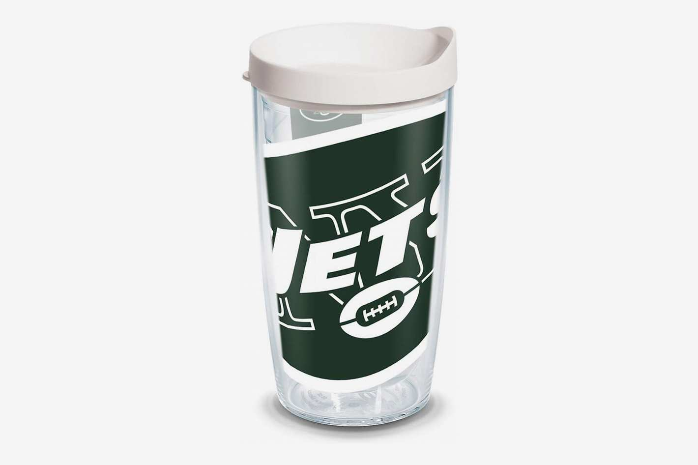 Tervis NFL New York Jets Colossal Tumbler with Wrap and White Lid