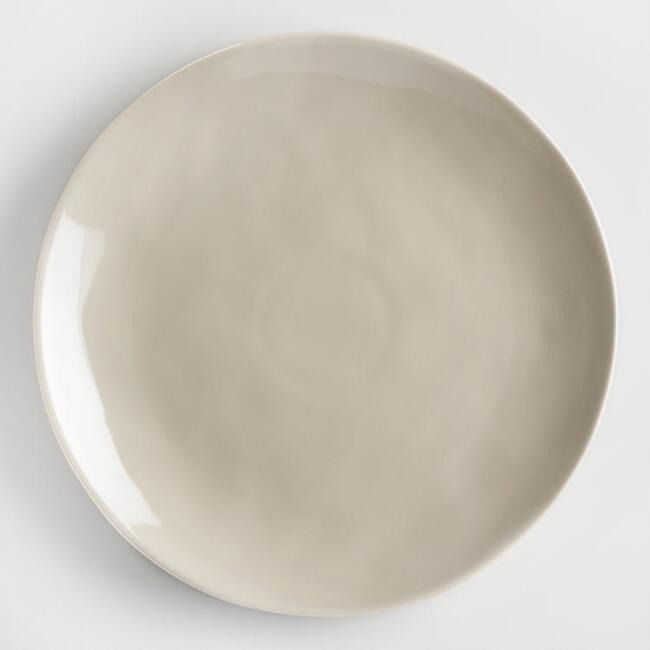 Stone Gray Element Dinner Plates, Set Of 4