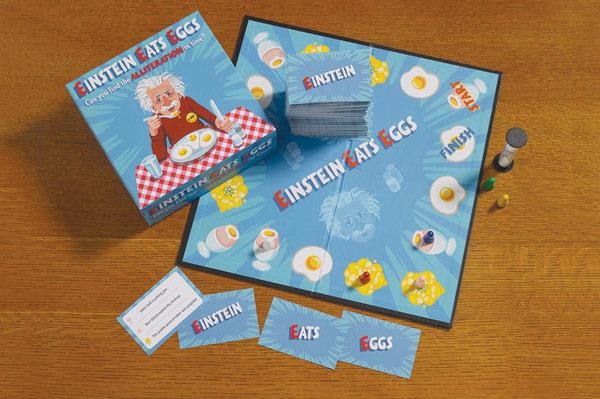 Einstein Eats Eggs