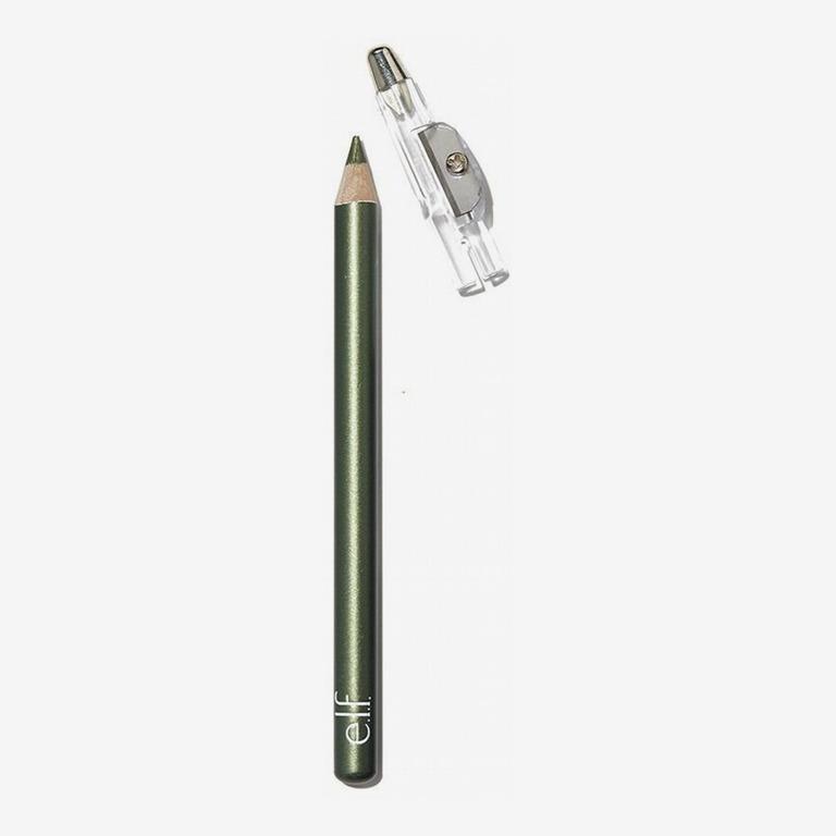 ELFE. Cosmétiques Crayon À Paupières En Satin, Olive Dorée