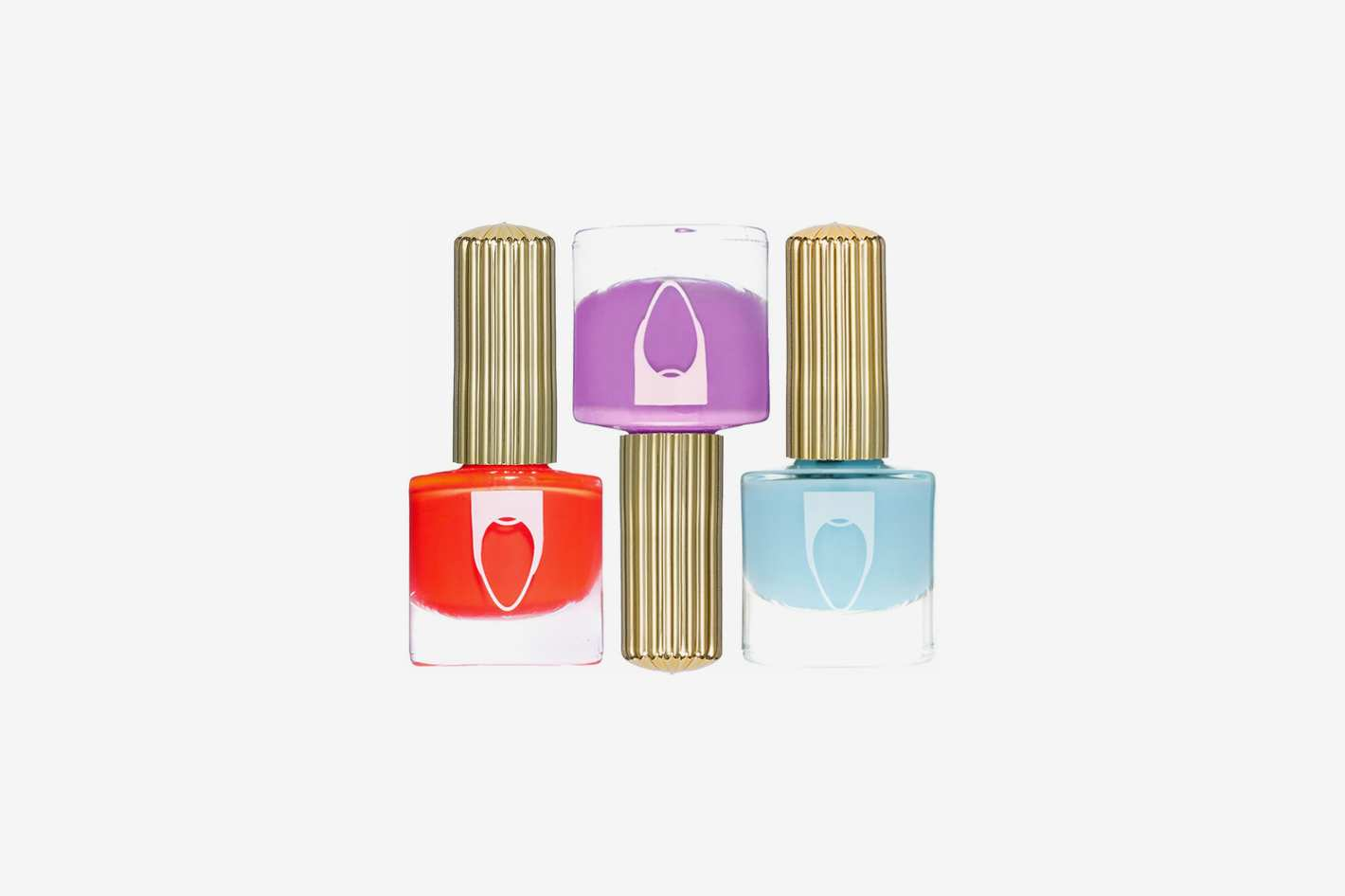 Floss Gloss City Sunset Set of 3 Nail Lacquers