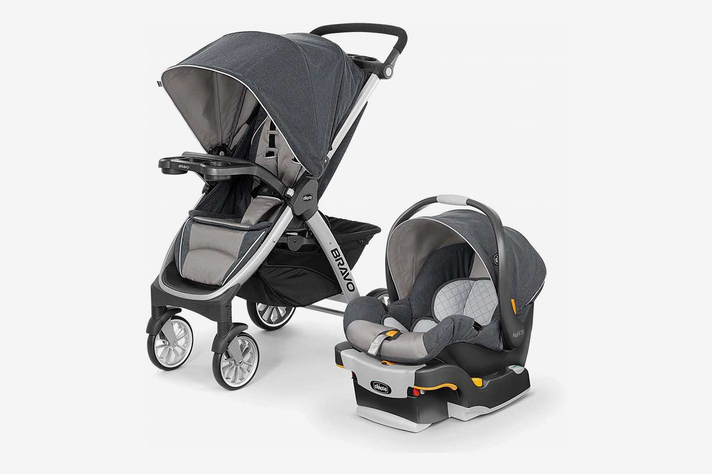 Chicco Bravo Trio Travel System With Full-Size Stroller