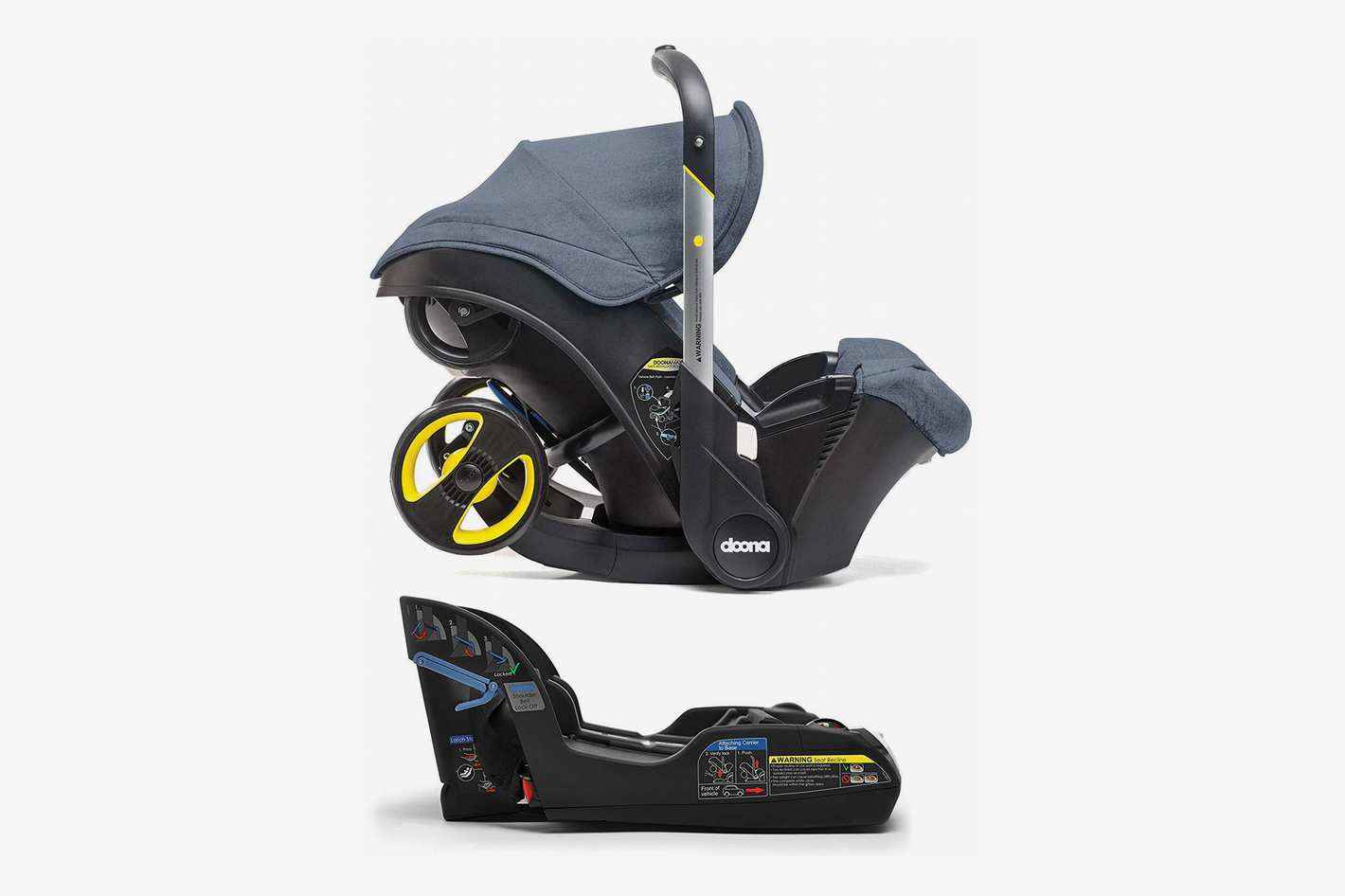 Doona Infant Car Seat with Base Marine/Navy Blue