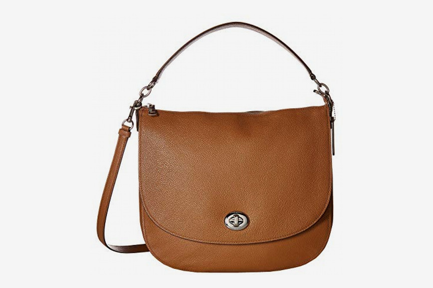 Coach Polished Pebble Updated Turnlock Hobo