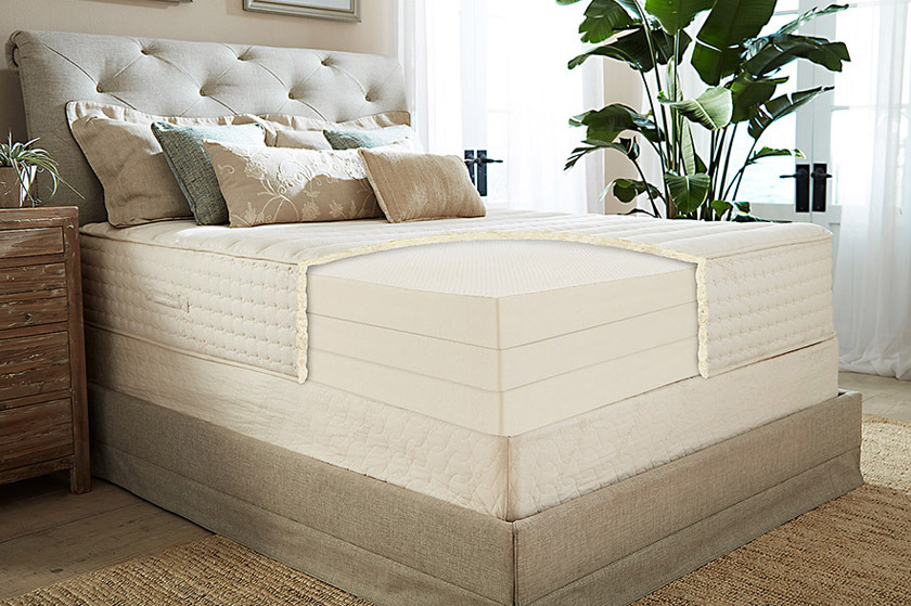 PlushBeds The Botanical Bliss Organic Latex Mattress