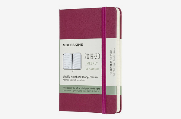 Moleskine Classic 18 Month 2019-2020 Weekly Planner