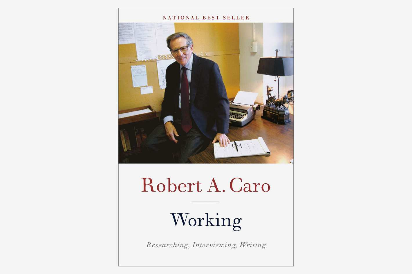Working by Robert A. Caro, Audiobook