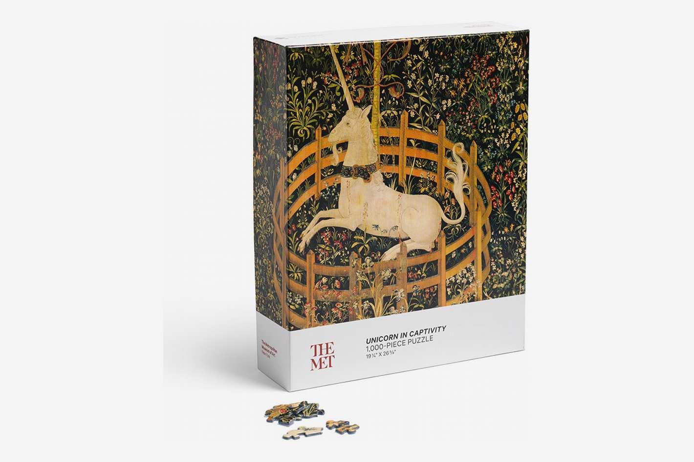 """Unicorn in Captivity"" 1000-Piece Puzzle"