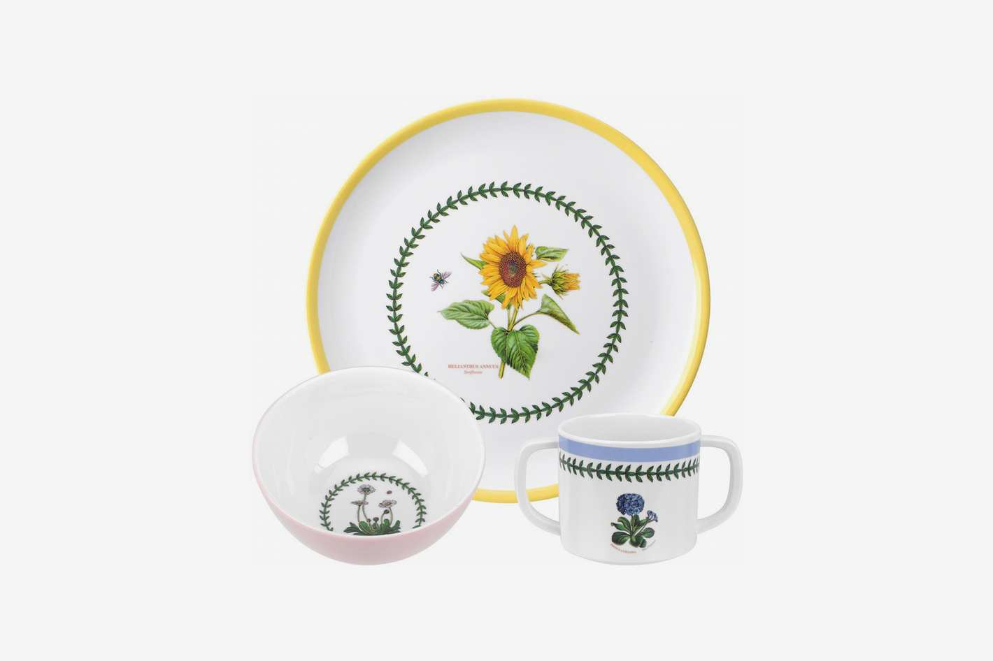 Portmeirion Botanic Garden 3 Piece Childrens Melamine Set