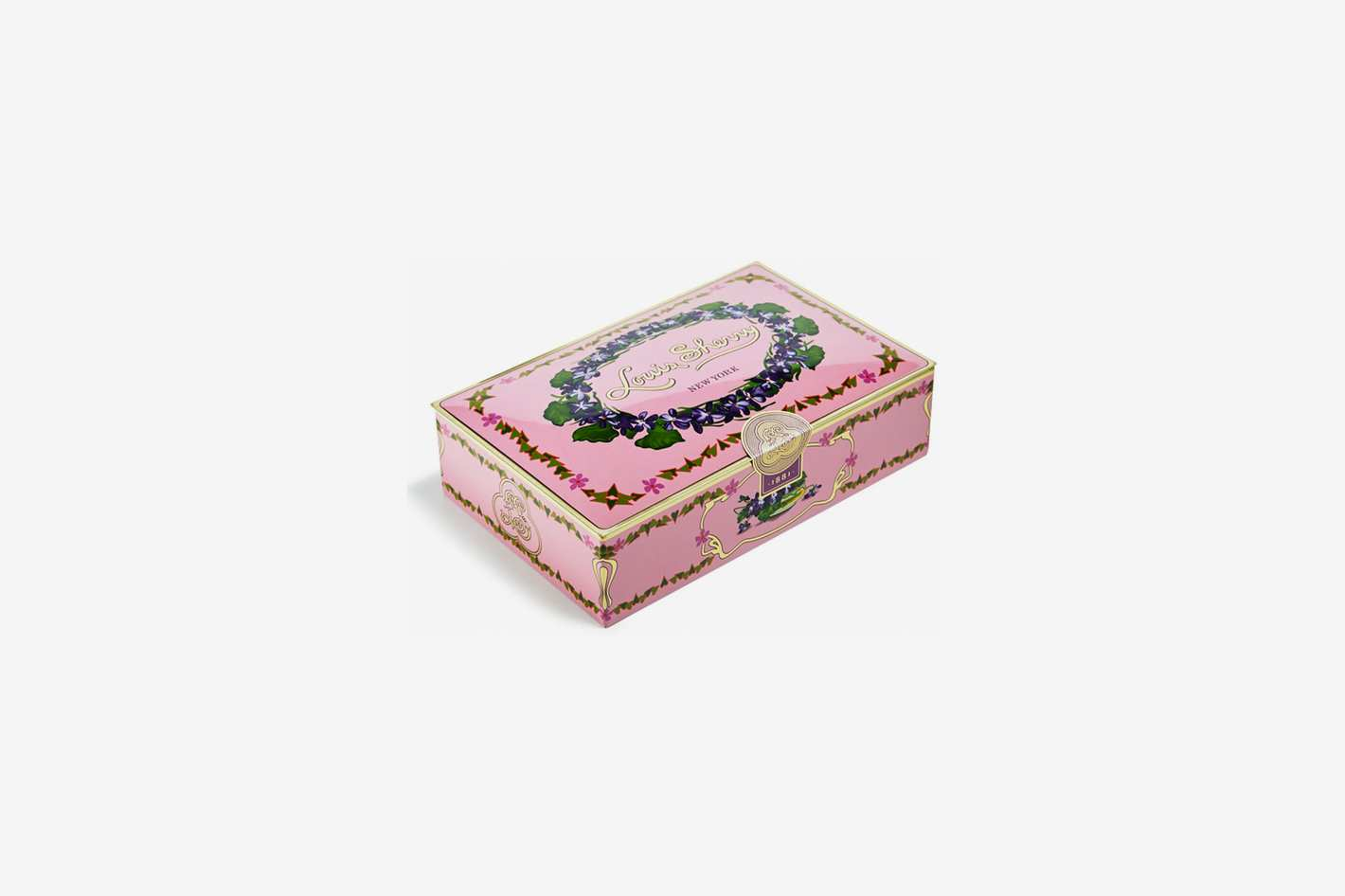 Louis Sherry Orchid 12-Piece Chocolate Truffle Tin