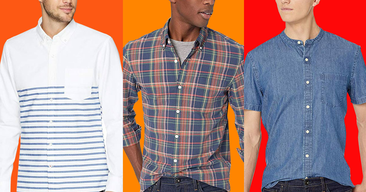 A Bunch of Men's Shirts (From $16) Are on Sale at Amazon