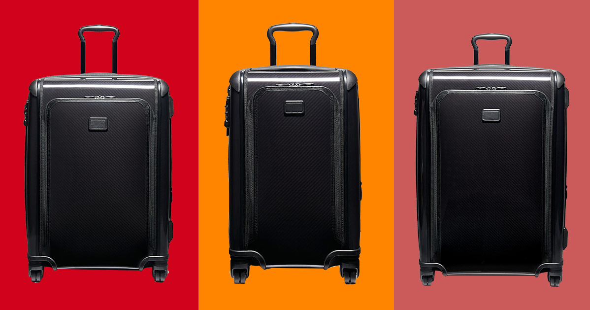 These Tumi Suitcases (Made From Race-Car Material) Are 40 Percent Off at Nordstrom