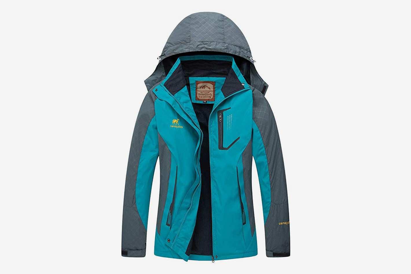Diamond Candy Waterproof Rain Jacket