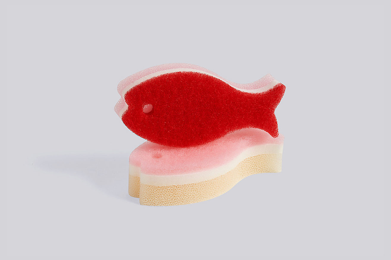 Hay Fish Sponge, Set of 2