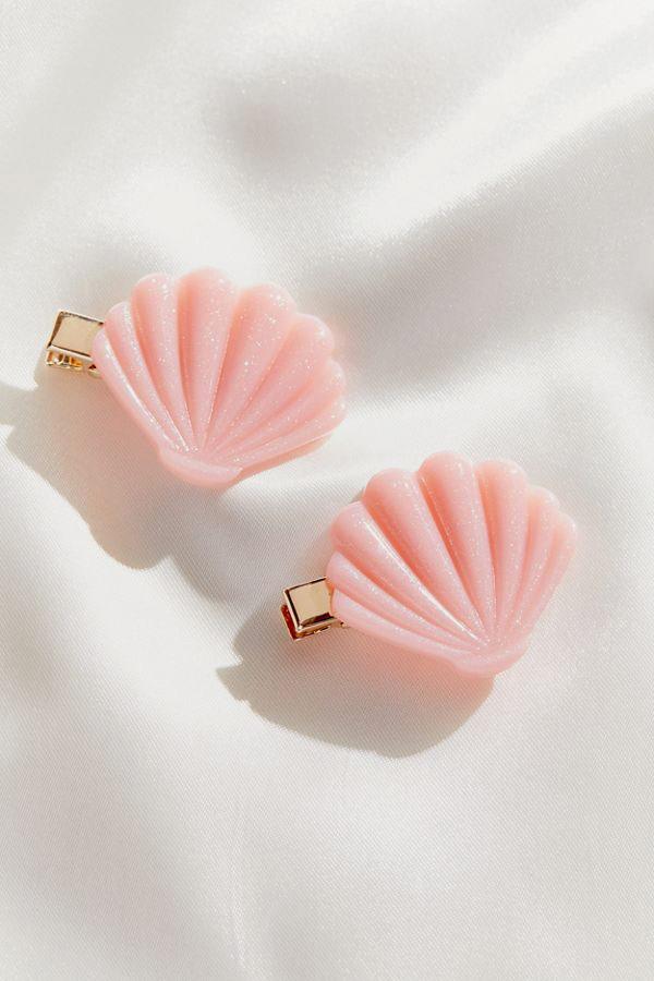 Urban Outfitters Totally Beachin' Shell Hair Clip Set