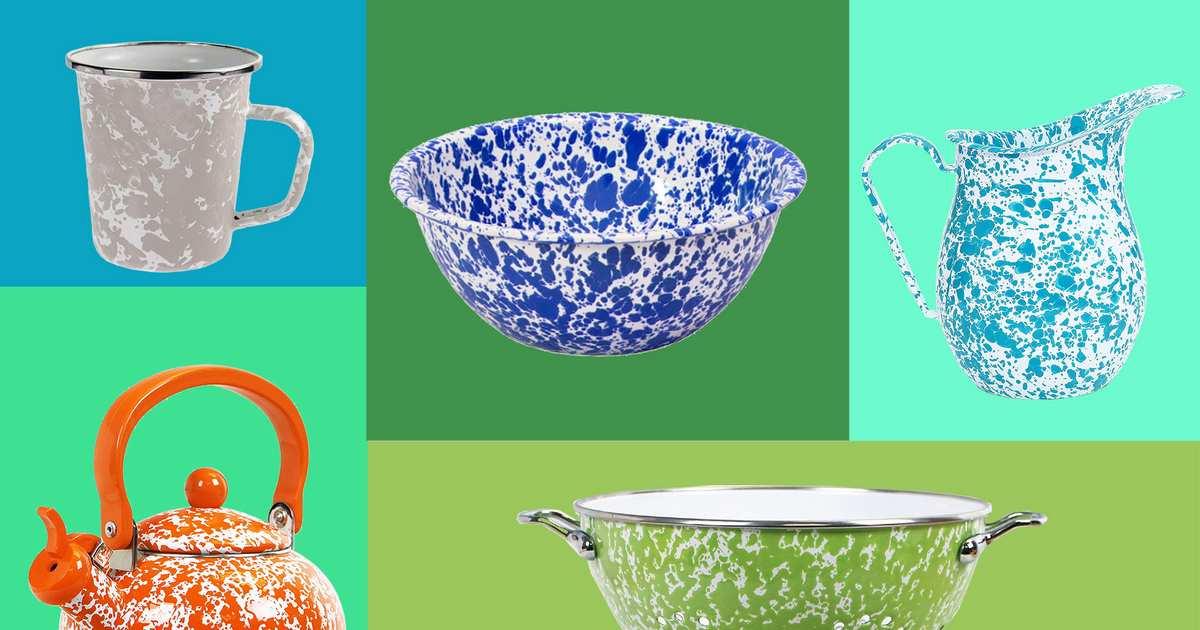 29 Splatterware-Enamel Things You Can Buy on Amazon
