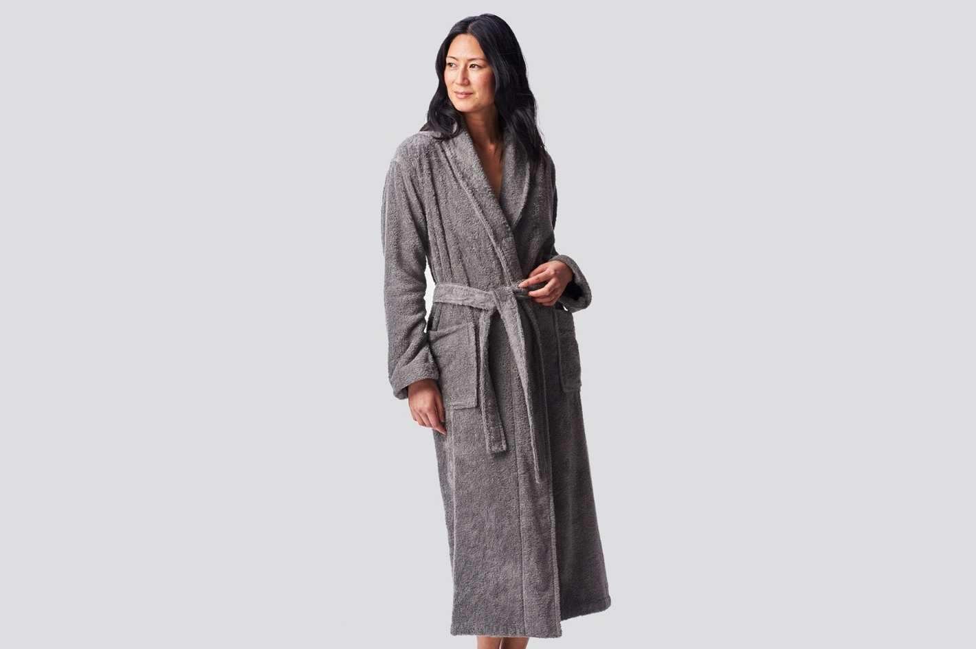 Coyuchi Unisex Cloud Loom Organic Robe