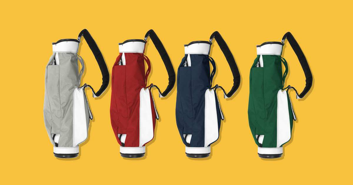 The Minimal Golf Bag People Always Notice on the Course