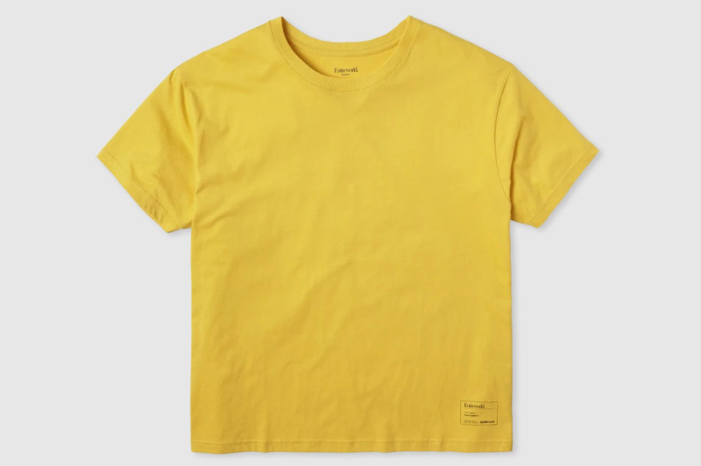 Entireworld T-Shirt Type B, Version 4 - Yellow