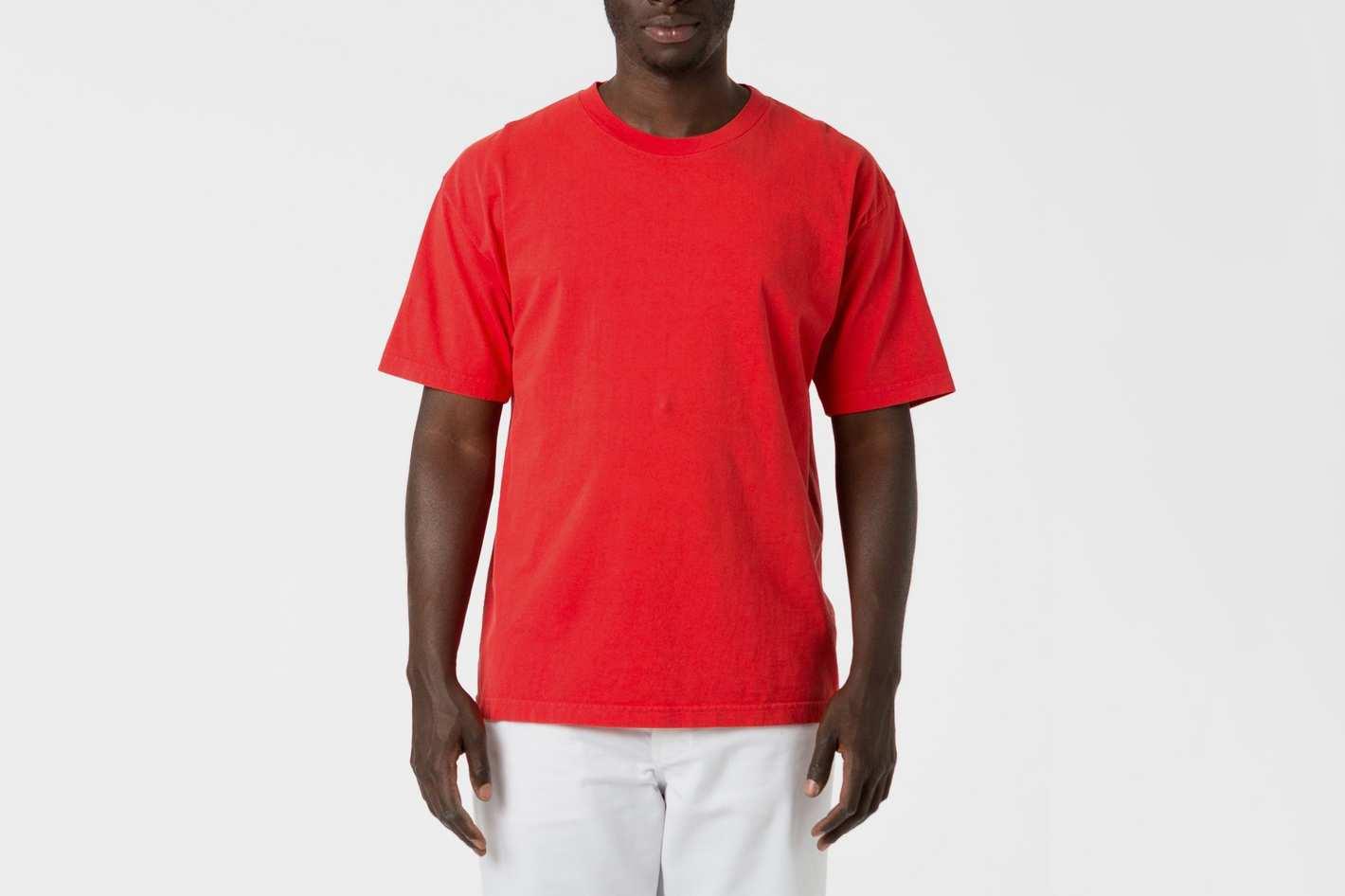 6.5oz Garment Dye Crew Neck T-shirt