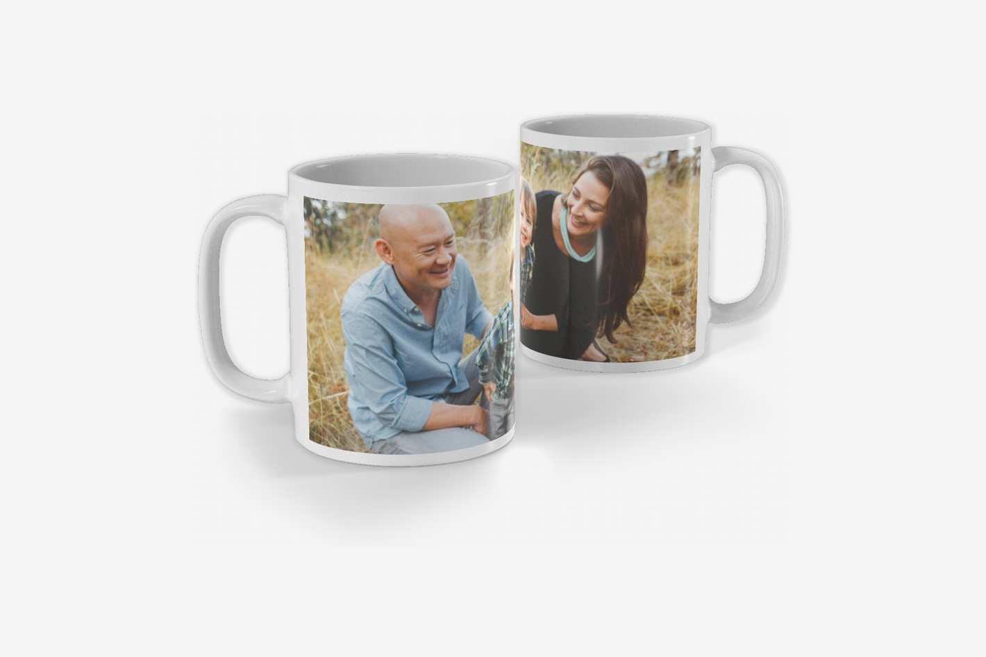 Full Photo White Photo Mug, 11oz