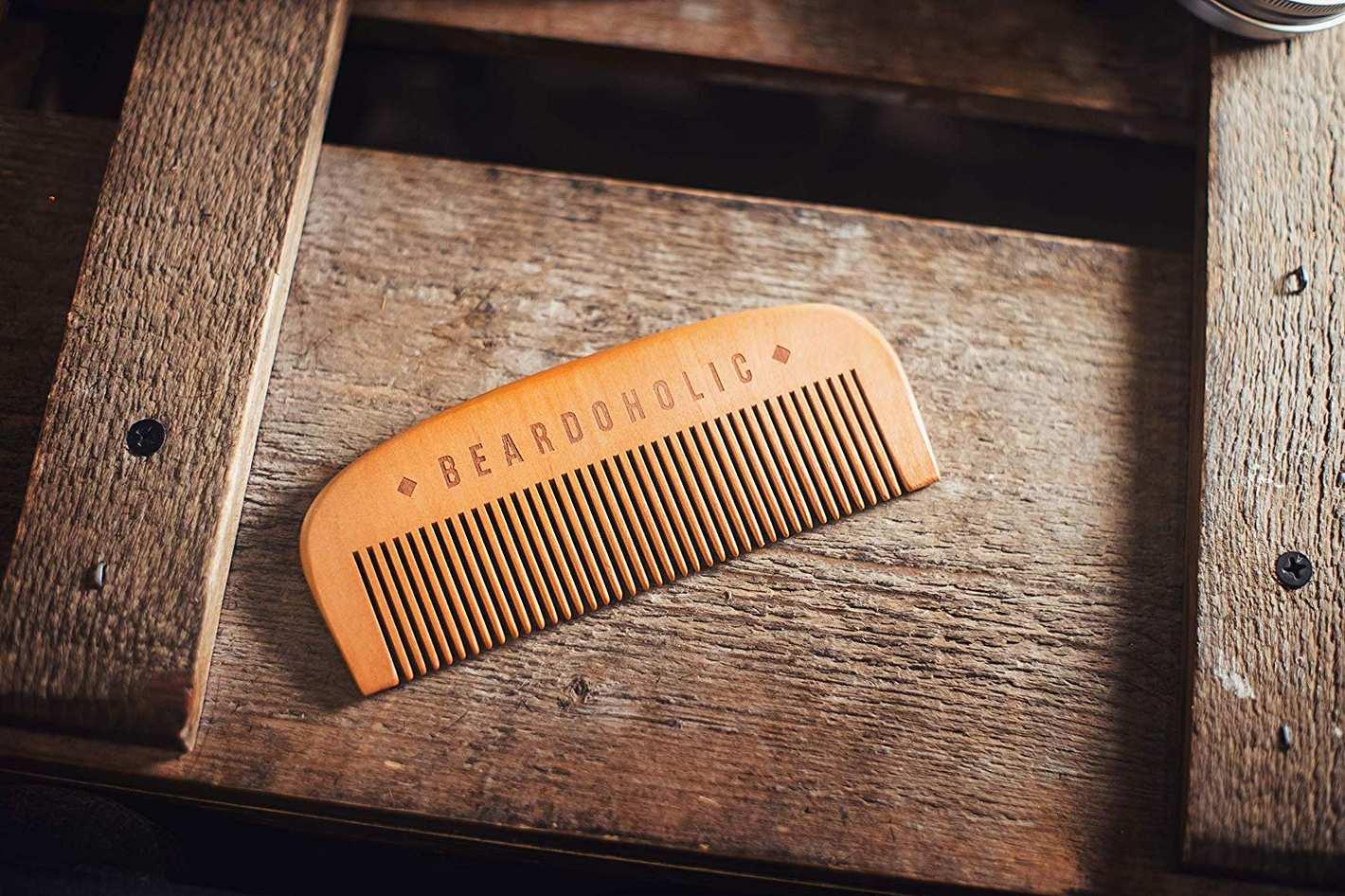 Beardoholic Fine Toothed Beard Comb