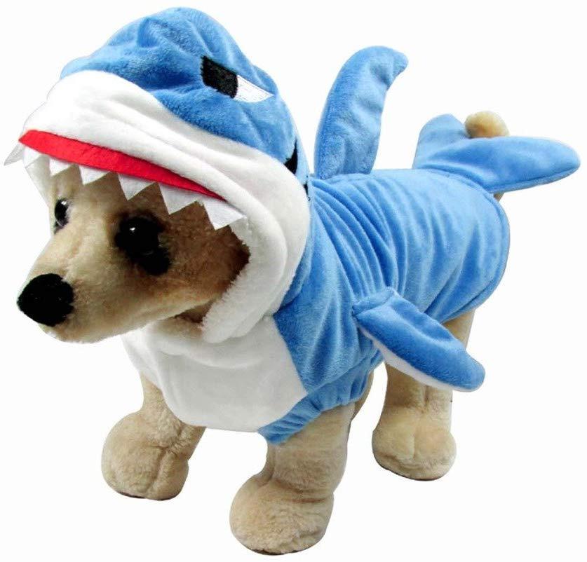 Mogoko Funny Dog Cat Shark Costumes