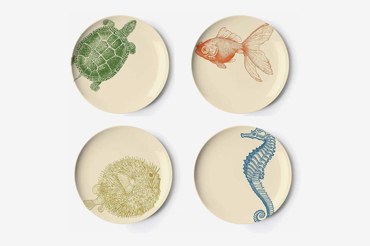 Thomas Paul Sealife Salad Plates