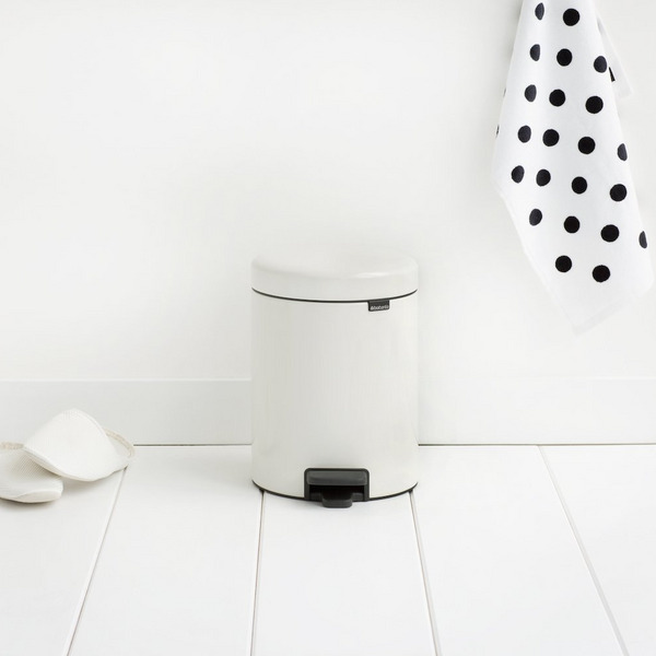 Brabantia Step Trash Can, 1.3 Gallons