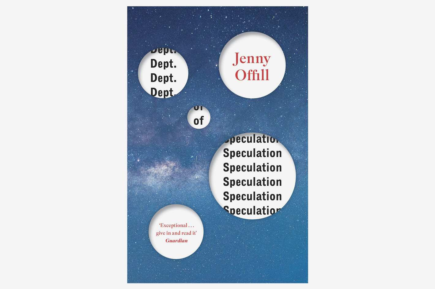 'Dept. of Speculation' by Jenny Offill