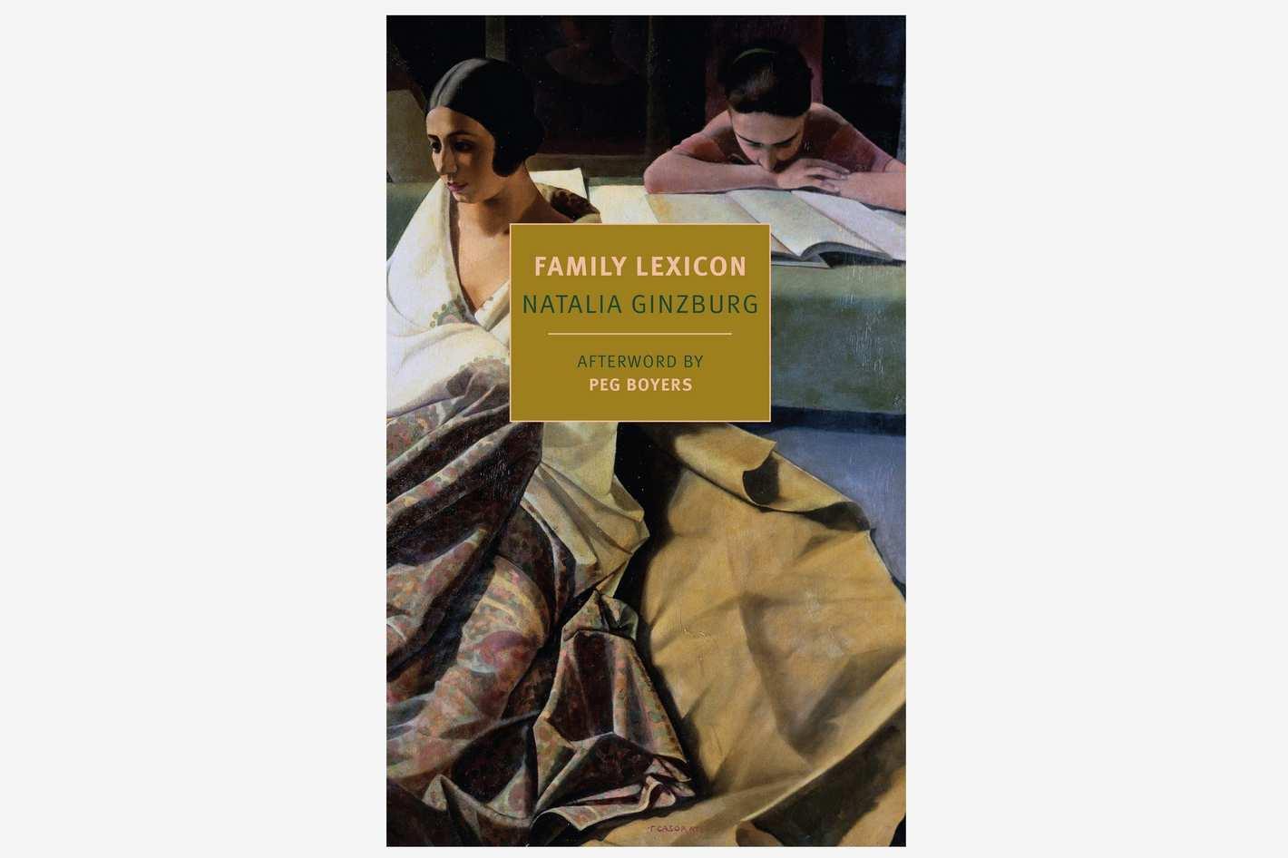'Family Lexicon' by Natalia Ginzburg